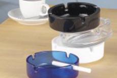 Glas- Aschenbecher