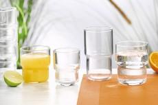 Gläser Log stapelbar