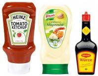 Ketchup, Mayo & Gewürze
