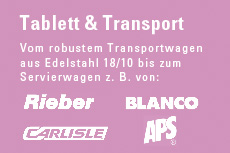 Tablett & Transport