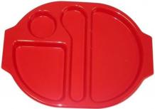 Tabletts mit Abteilen