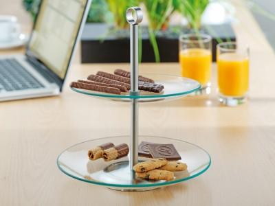 multi-tiered platters