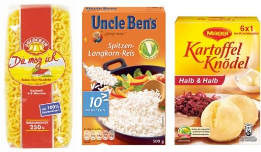 pasta, rice & more
