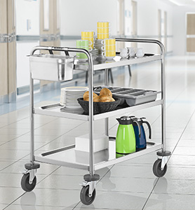 serving carts/trolleys