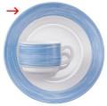 Dinner plate 19.5 cm Form Brush - blue Arcoroc