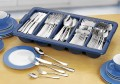 Economy set, CELINE, stainless steel 18/10, Polished, 180 pieces of cutlery, with cutlery tray in gift box.