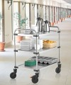 Rieber Serv. cart 850RL,3 Shelves mounted