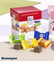 RITTER SPORT SCHOKOWÜRFEL variety, (chocolate cube Content: 22 chocolate cubes  8 g per box, single hygienic packaging