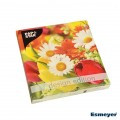 PAPSTAR 20 serviettes, 3-ply Design Edition  1/4-fold 33 cm x 33 cm, FUNKY Flower Power