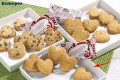 Coppenrath Cookie-Herzen Vanille, (heart shaped va contents: 200 pcs  5g. single hygienic packaging