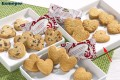 Coppenrath Cookie-Herzen Caramel, (heart shaped ca contents: 200 pcs.  5 gr. single hygienic packaging