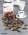 Merci Petits Chocolate Collection, 1kg Dose (ca. 167 Stück). Schokoladenminis in sieben verschiedenen Sorten.