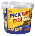 Leibniz Pick UP! Minis CHOCO,  contents: 100 pcs.  10.6g in round tin