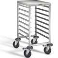 Blanco shelf-trolley RWRA 850 with work surface for 8 GN 1/1 or 16 GN 1/2