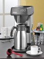 Quick brewing coffee machine ISO from Bonamat, incl. stainless steel vacuum flask (2 litre) Plastic filter basket