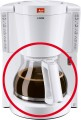 Melitta replacement glass pot for Look IV Selection white
