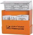 Plaster dispenser Aluplast Dimensions: 154 x 128 x 54 mm, Colour: orange