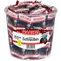 Haribo ROTELLA liquorice spirals small bag, Content: 100 mini-sachets  10 g per round tin,
