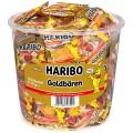 Haribo Goldbären fruit gums, Content: 100 mini-sachets  10 g per round tin,