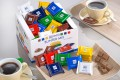 RITTER SPORT MINI colourful assortment, Contents: 84 pieces  16.67 g per box, Mini-chocolate thins in 7 different sorts.