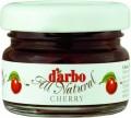 Darbo Kirsch Konfitüre Extra im Miniglas à 28 g Inhalt: 60 Stk. pro Karton