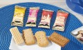 Hoppe biscuit mix city-mixture  volume: 150 pcs.  6 gr. Each biscuit individually, hygienically wrapped