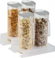 Cereal bar Lucky 3-parts. 1 stand, plexiglass frosted ca. 26 x 16.5 cm, height 4 cm