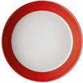Soup plate 21 cm Form Tric - hot (red)