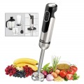 Bartscher hand blender with accessories, Ergonomic stainless steel design