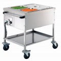 Bartscher Food service cart GN 2 x 1/1, depth:   200 mm