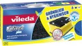 Pot cleaner VILEDA GLITZI, Content: 3 pcs., Colour: yellow