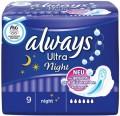 Always Binden Ultra Night 9ST