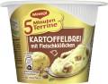 Maggi 5 Min Terrine Kartoffelbrei mit  Fleischklößchen 46G