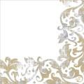 DUNI Dunisoft-Servietten 40 x 40 cm, Festiva white Inhalt 60 Stück