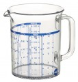EMSA SUPERLINE measuring jug, 0.5 ltr transparent