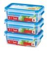 EMSA CLIPCLOSE 3D 3 pcs set 1,00L