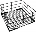Vogue Wire high sided Glass basket  180(h)x350(w)x350(d)mm