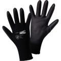 WORKY Arbeitshandschuh MICRO black 9 II 100 % Nylon schwarz, II, Werkstoff: 100 % Nylon, Art der Oberfläche: