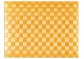 SALEEN Tischset 30x40 cm, eckig, gelb