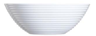 ARCOROC salad bowl  Form STAIRO plain white Diameter: 27.3 cm