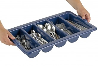 Economy set MONITA, stainless steel 18/0, barrel f contains 200 pieces of cutlery for 40 persons, with cutlery tray, in gift box.