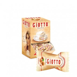 FERRERO GIOTTO 1er, hazelnut biscuit specialities, mini-biscuit balls, in dispenser: 120 pcs, 4.3g each