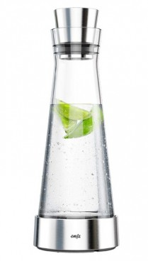 Emsa cooling decanter SLIM FLOW, contents: 1.0 litre,  glass, dishwasher-safe