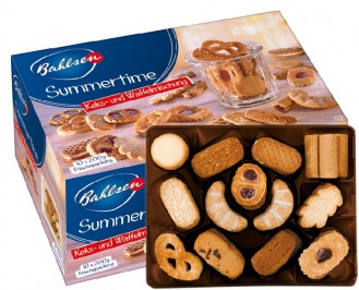 Bahlsen SUMMERTIME, Content: 10 serving units  200 g, 11 pastry specialities without chocolate