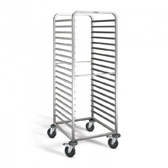 Blanco shelf / clearing trolley RWR 161, for 18 GN trays 2/1 or 36 GN 1/1