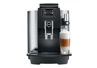 Kaffeevollautomat Jura WE8 chrom  Für Spezialitäten-Liebhaber mit TFT-Display und One-Touch-Funktion