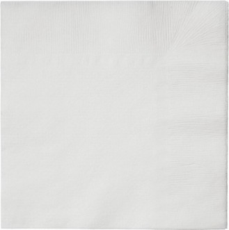 Tork Soft lunch serviette, white, 3-ply, 33 x 33cm, 1/4 fold, packet  150 pcs.