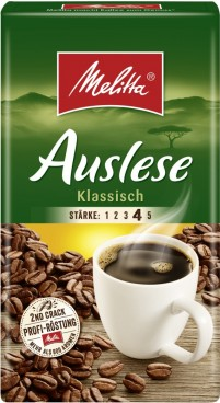 Melitta CAFE AUSLESE, Content: 500 g ground