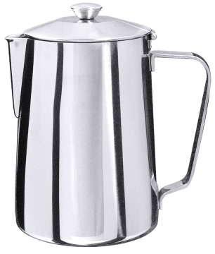 Coffee pot 1.5l made of stainless steel 18/10