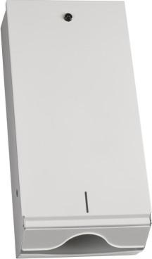 Handtuchspender aus Metall,weiß,m.Schloß  55x26x13cm groß FÜR ALLE FORMATE